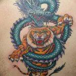 Фото татуировки дракон от 24.09.2018 №030 - dragon tattoo - tattoo-photo.ru