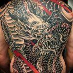 Фото татуировки дракон от 24.09.2018 №036 - dragon tattoo - tattoo-photo.ru