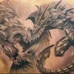 Фото татуировки дракон от 24.09.2018 №037 - dragon tattoo - tattoo-photo.ru