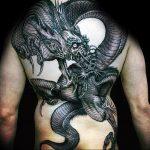 Фото татуировки дракон от 24.09.2018 №039 - dragon tattoo - tattoo-photo.ru