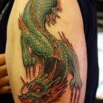Фото татуировки дракон от 24.09.2018 №050 - dragon tattoo - tattoo-photo.ru