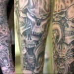 Фото татуировки дракон от 24.09.2018 №051 - dragon tattoo - tattoo-photo.ru