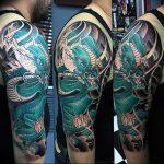 Фото татуировки дракон от 24.09.2018 №054 - dragon tattoo - tattoo-photo.ru