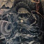 Фото татуировки дракон от 24.09.2018 №056 - dragon tattoo - tattoo-photo.ru