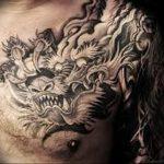 Фото татуировки дракон от 24.09.2018 №057 - dragon tattoo - tattoo-photo.ru