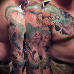 Фото татуировки дракон от 24.09.2018 №061 - dragon tattoo - tattoo-photo.ru