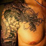 Фото татуировки дракон от 24.09.2018 №068 - dragon tattoo - tattoo-photo.ru