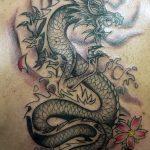 Фото татуировки дракон от 24.09.2018 №071 - dragon tattoo - tattoo-photo.ru
