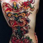 Фото татуировки дракон от 24.09.2018 №078 - dragon tattoo - tattoo-photo.ru