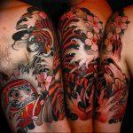 Фото татуировки дракон от 24.09.2018 №079 - dragon tattoo - tattoo-photo.ru