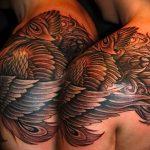Фото татуировки дракон от 24.09.2018 №080 - dragon tattoo - tattoo-photo.ru