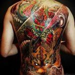 Фото татуировки дракон от 24.09.2018 №081 - dragon tattoo - tattoo-photo.ru