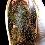 Фото татуировки дракон от 24.09.2018 №091 - dragon tattoo - tattoo-photo.ru