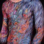 Фото татуировки дракон от 24.09.2018 №093 - dragon tattoo - tattoo-photo.ru