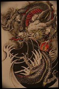 Фото татуировки дракон от 24.09.2018 №094 - dragon tattoo - tattoo-photo.ru