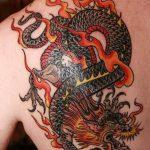 Фото татуировки дракон от 24.09.2018 №098 - dragon tattoo - tattoo-photo.ru