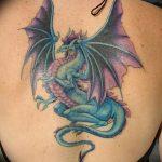 Фото татуировки дракон от 24.09.2018 №109 - dragon tattoo - tattoo-photo.ru