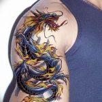 Фото татуировки дракон от 24.09.2018 №111 - dragon tattoo - tattoo-photo.ru