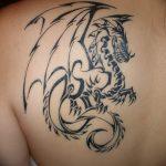 Фото татуировки дракон от 24.09.2018 №112 - dragon tattoo - tattoo-photo.ru