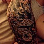 Фото татуировки дракон от 24.09.2018 №113 - dragon tattoo - tattoo-photo.ru