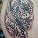 Фото татуировки дракон от 24.09.2018 №117 - dragon tattoo - tattoo-photo.ru