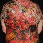 Фото татуировки дракон от 24.09.2018 №118 - dragon tattoo - tattoo-photo.ru