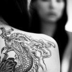 Фото татуировки дракон от 24.09.2018 №119 - dragon tattoo - tattoo-photo.ru