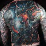 Фото татуировки дракон от 24.09.2018 №121 - dragon tattoo - tattoo-photo.ru