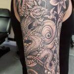 Фото татуировки дракон от 24.09.2018 №124 - dragon tattoo - tattoo-photo.ru