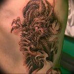 Фото татуировки дракон от 24.09.2018 №128 - dragon tattoo - tattoo-photo.ru