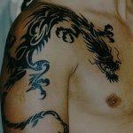 Фото татуировки дракон от 24.09.2018 №130 - dragon tattoo - tattoo-photo.ru