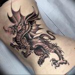 Фото татуировки дракон от 24.09.2018 №132 - dragon tattoo - tattoo-photo.ru