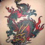 Фото татуировки дракон от 24.09.2018 №135 - dragon tattoo - tattoo-photo.ru