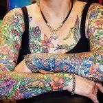 Фото татуировки дракон от 24.09.2018 №137 - dragon tattoo - tattoo-photo.ru