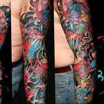 Фото татуировки дракон от 24.09.2018 №139 - dragon tattoo - tattoo-photo.ru