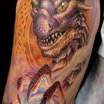 Фото татуировки дракон от 24.09.2018 №140 - dragon tattoo - tattoo-photo.ru