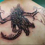 Фото татуировки дракон от 24.09.2018 №144 - dragon tattoo - tattoo-photo.ru