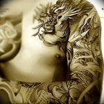 Фото татуировки дракон от 24.09.2018 №145 - dragon tattoo - tattoo-photo.ru