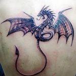 Фото татуировки дракон от 24.09.2018 №152 - dragon tattoo - tattoo-photo.ru