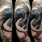 Фото татуировки дракон от 24.09.2018 №155 - dragon tattoo - tattoo-photo.ru