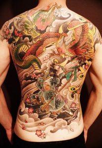 Фото татуировки дракон от 24.09.2018 №158 - dragon tattoo - tattoo-photo.ru