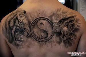 Фото татуировки дракон от 24.09.2018 №161 - dragon tattoo - tattoo-photo.ru