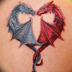 Фото татуировки дракон от 24.09.2018 №162 - dragon tattoo - tattoo-photo.ru