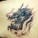 Фото татуировки дракон от 24.09.2018 №165 - dragon tattoo - tattoo-photo.ru