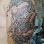 Фото татуировки дракон от 24.09.2018 №166 - dragon tattoo - tattoo-photo.ru