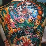 Фото татуировки дракон от 24.09.2018 №171 - dragon tattoo - tattoo-photo.ru