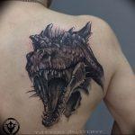 Фото татуировки дракон от 24.09.2018 №173 - dragon tattoo - tattoo-photo.ru