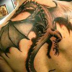 Фото татуировки дракон от 24.09.2018 №174 - dragon tattoo - tattoo-photo.ru