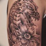 Фото татуировки дракон от 24.09.2018 №175 - dragon tattoo - tattoo-photo.ru