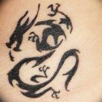 Фото татуировки дракон от 24.09.2018 №177 - dragon tattoo - tattoo-photo.ru